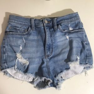 Victoria's Secret Pink Denim Shorts